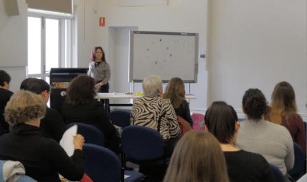 Beverley Omsky Presenting Professional Development